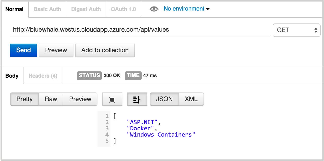 Walkthrough: Running an OWIN Self-Hosted Web API in a