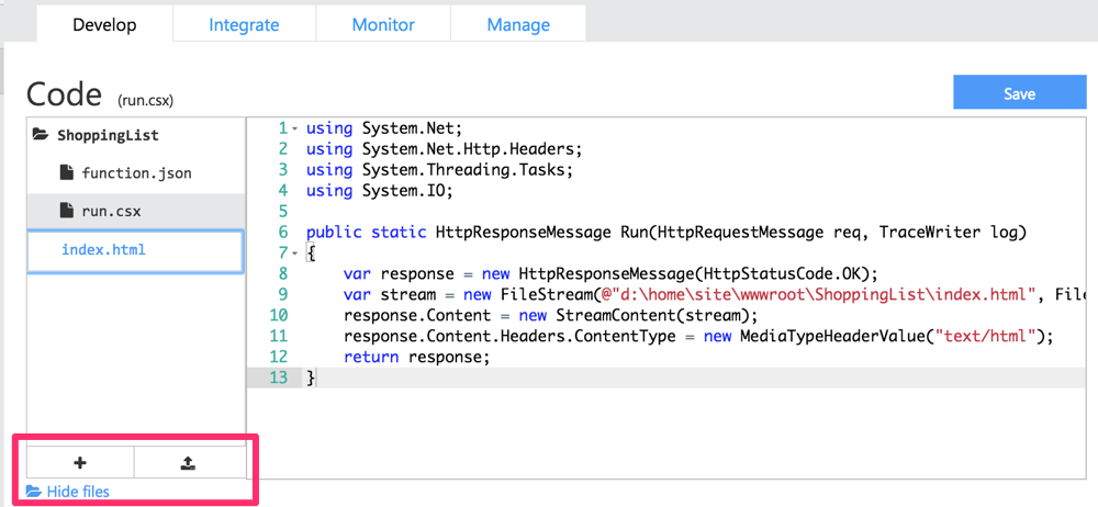 Serving an HTML Page from Azure Functions