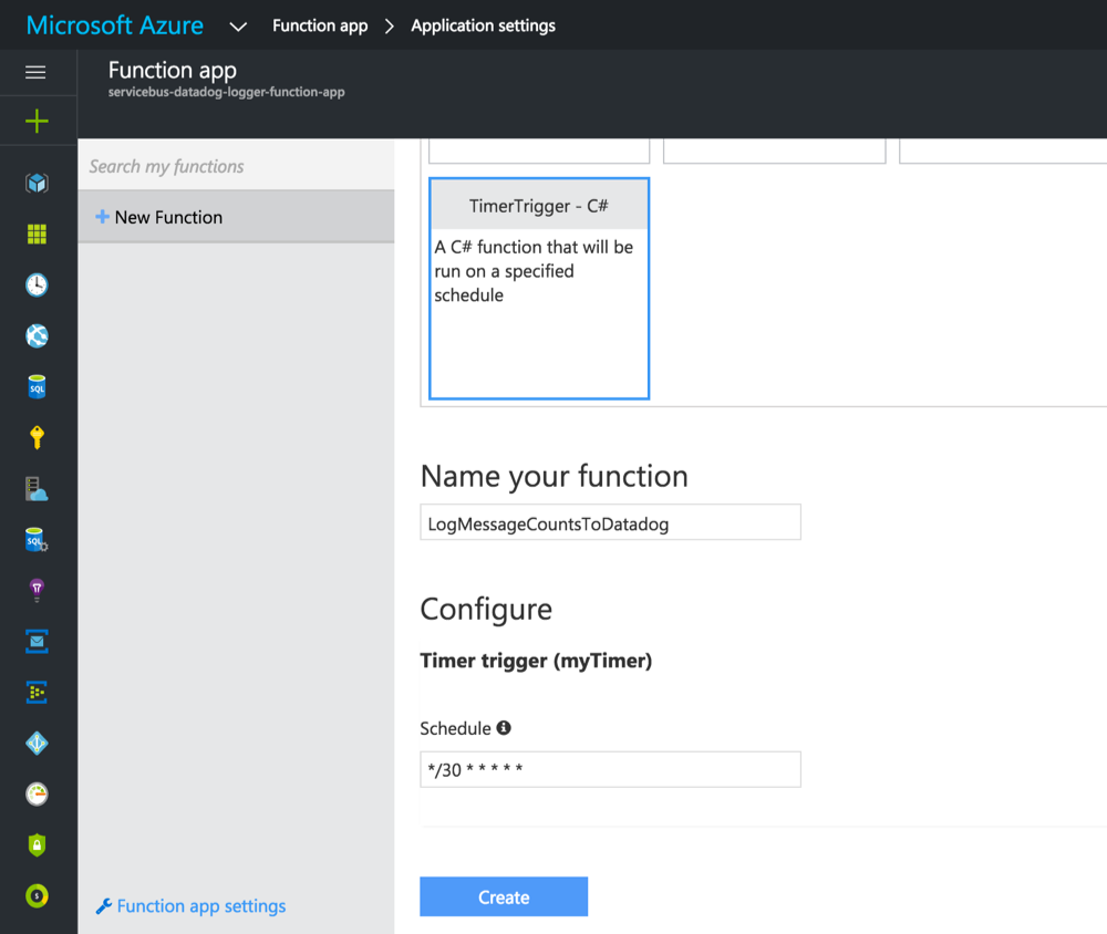 Monitoring Service Bus with Azure Functions and Datadog