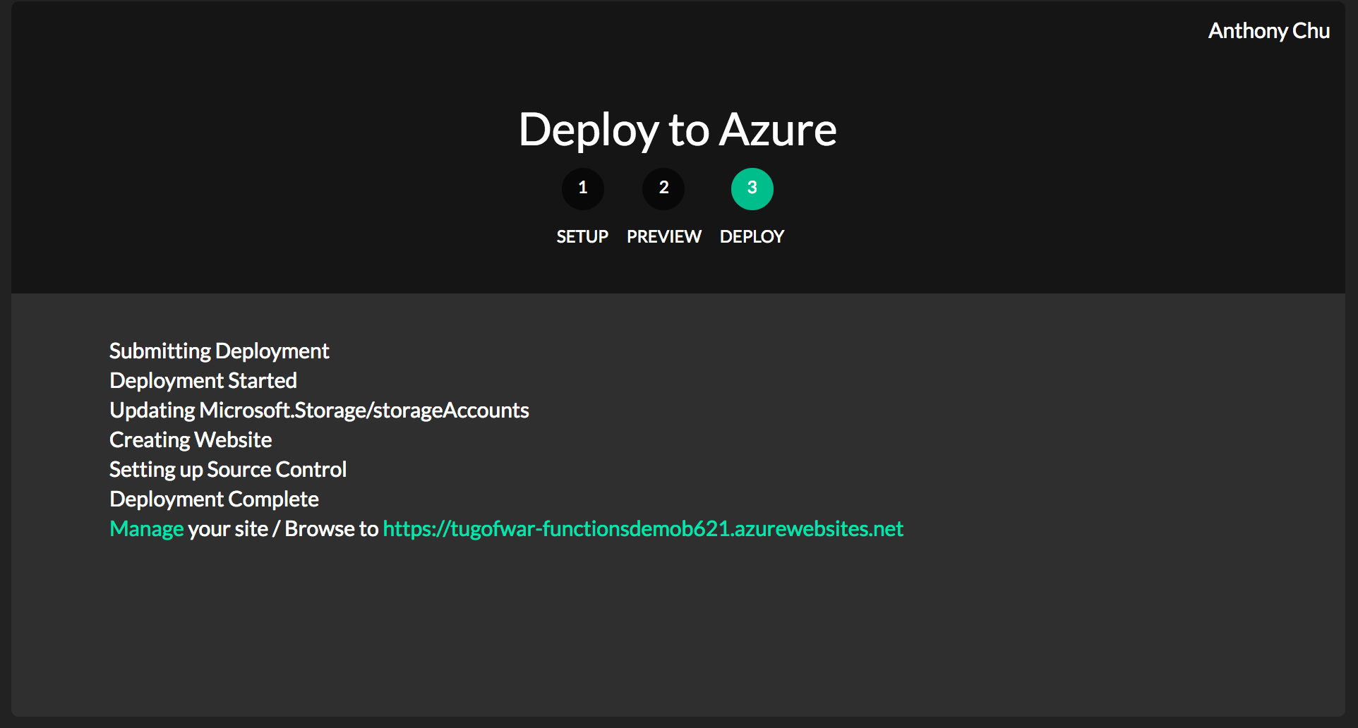 Upload Files to Blob Storage during App Service (and Azure